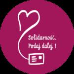 Logo programu Solidarność. Podaj dalej!