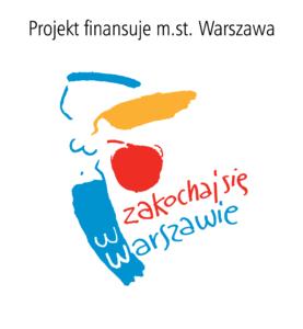 Logotyp Biura Edukacji m.st Warszawy z informacją o finansowaniu projektu