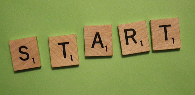 Napis START